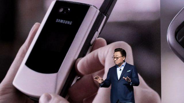 Una presentación de Samsung.