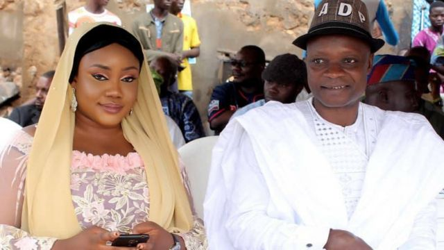 Aworan Rinsola Abiola pẹlu ọmọ ẹgbẹ ADP