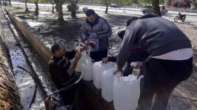 وادي بردى مسؤول عن تزويد دمشق وضواحيها بنحو 60% من الماء
