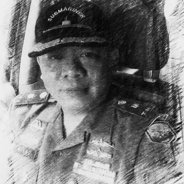 O major Wisnu Subiyantoro está entre os 53 tripulantes desaparecidos