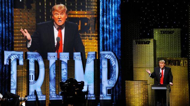 Дональд Трамп на Comedy Central