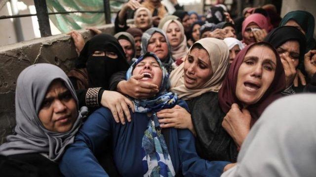 غزہ جنازہ