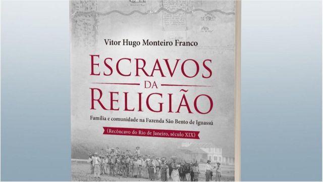 Capa de 'Escravos da Religião', livro de Vitor Hugo Monteiro Franco