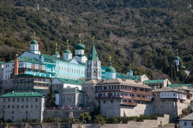 Свято-Пантелеймонов монастырь на Афоне