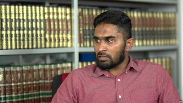 BM Arshad, del grupo musulmán Thawheed Jamaath