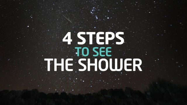 4 Steps to see the shower