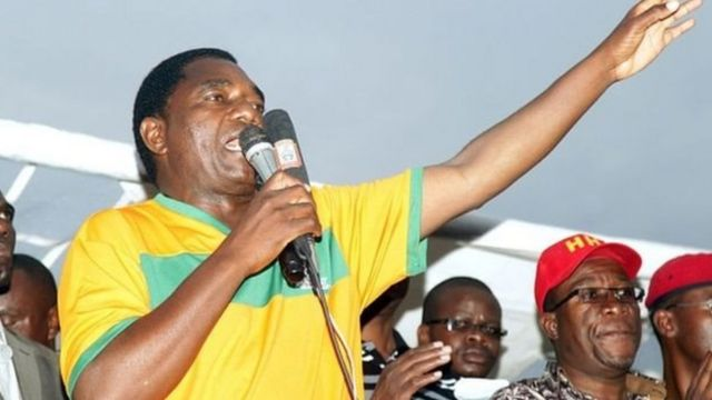 Zambia's opposition leader