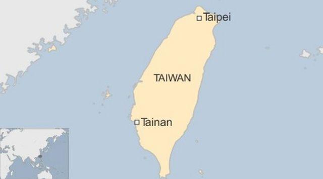 台南市の位置