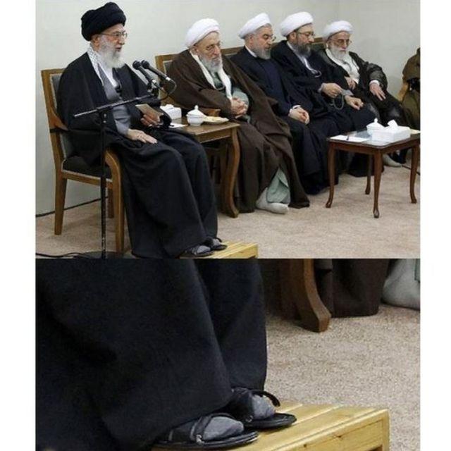 رسانه های حکومتی ایران می گویند آیت الله خامنه ای ساده زیست است