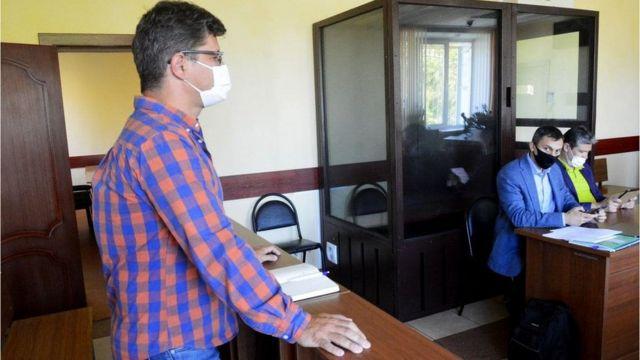Журналист Александр Пичугин в суде