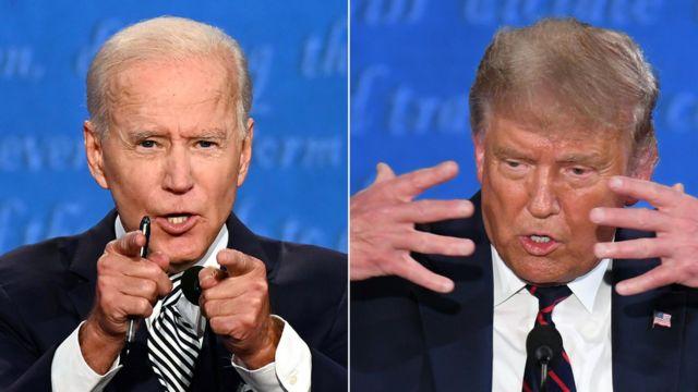 Debate entre Biden y Trump.
