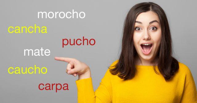 Palabras en quechua