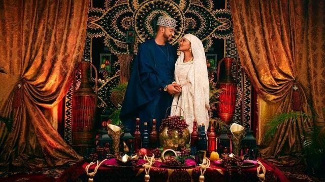Hanan Buhari and Muhammed Fahd