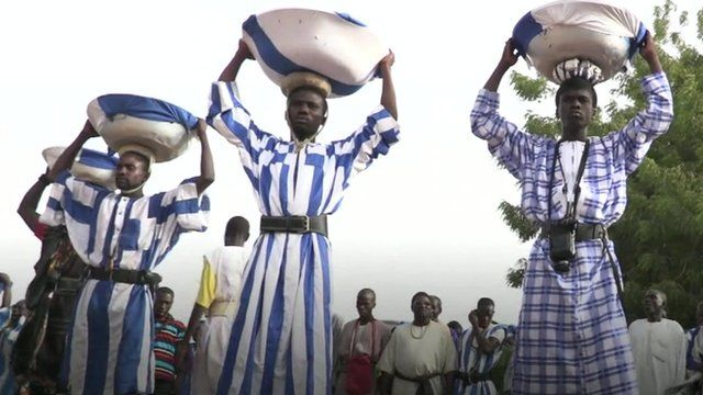 Sufi Islam members in Senegal