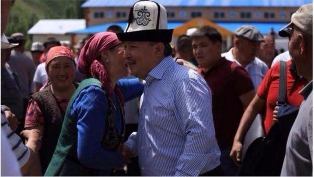 Келдибек президенттик шайлоого барарын быйыл 26-майда Алайда жарыялаган