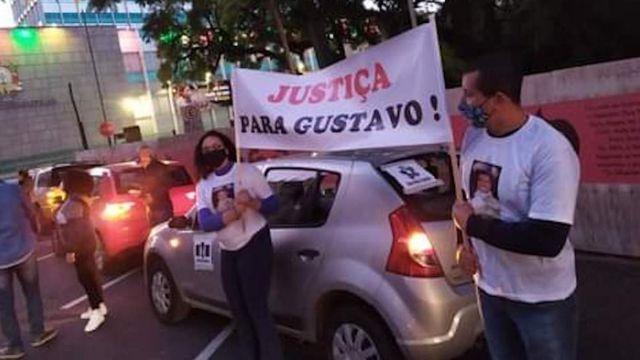 Ativistas em Porto Alegre