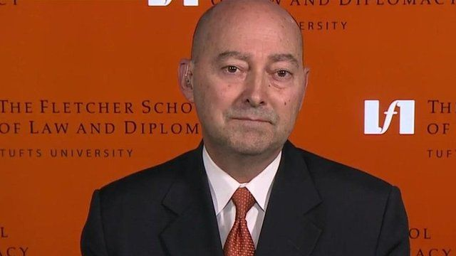 Former Supreme Allied Commander at Nato, Adm James Stavridis