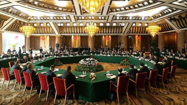 Diálogo de los Seis, en Pekín