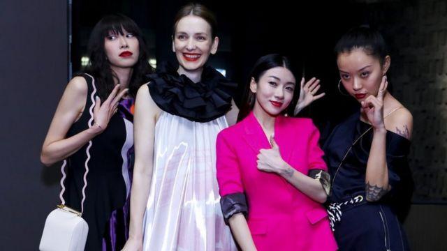 Yoyo Liu, Roksanda Ilincic, Yvonne Ching, Mia Kong