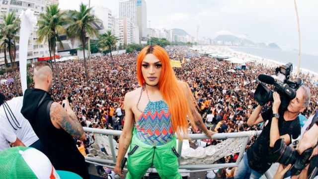 Pabllo Vittar na Parada Gay do Rio