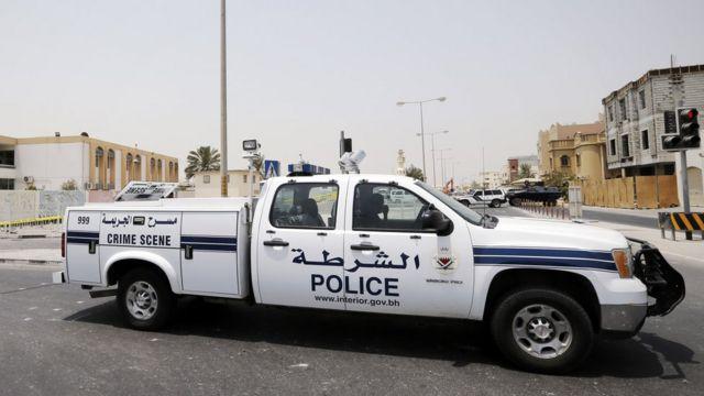 bahrain police car