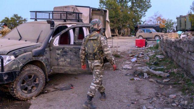 Азербайджанські військові