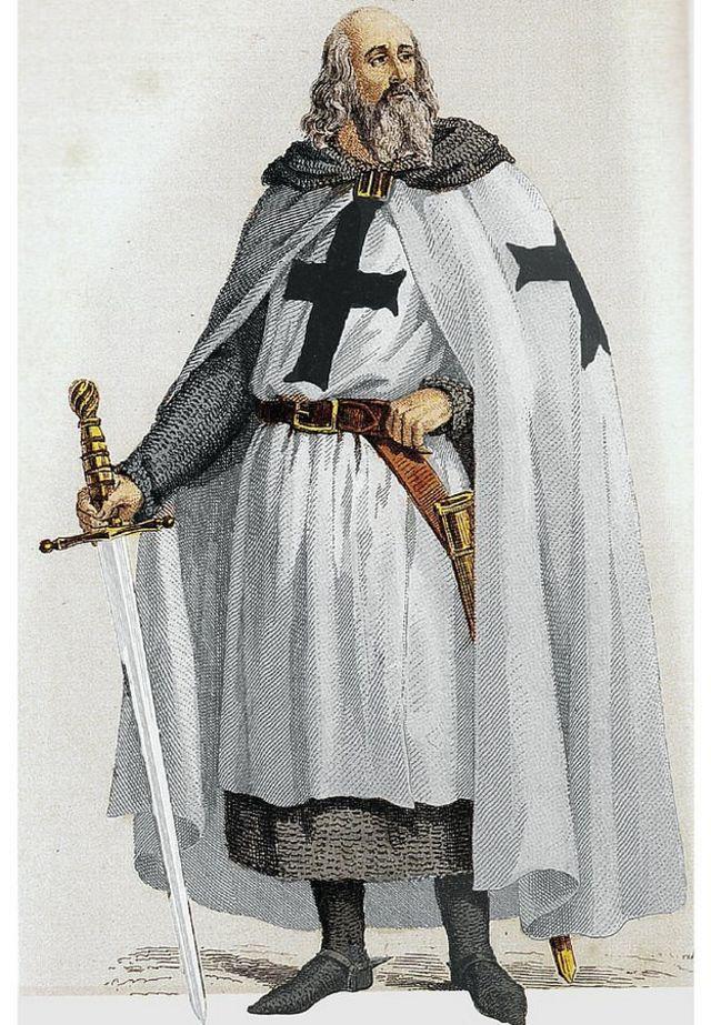 Gran Maestre de la Orden del Temple, Jacques de Molay