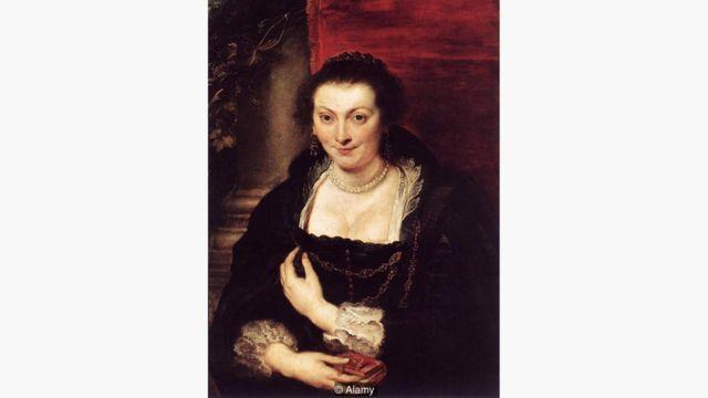 Retrato de Isabella Brandt (1610)