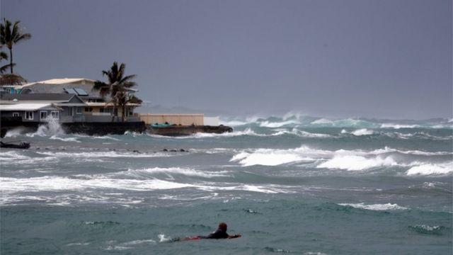fırtınada deniz