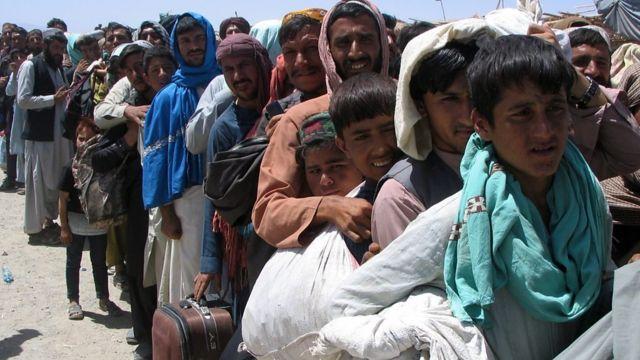 Những người rời khỏi Afghanistan