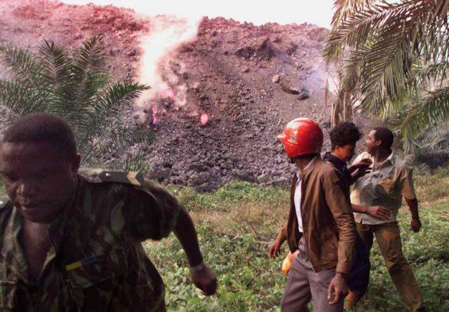 Monte Camarões sofreu erupção em 1999