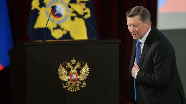 Бывший глава администрации президента России Сергей Иванов