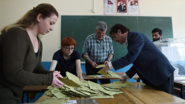 فرز أصوات الناخبين