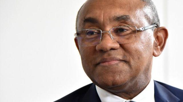 Ahmad, président de la Confédération africaine de football