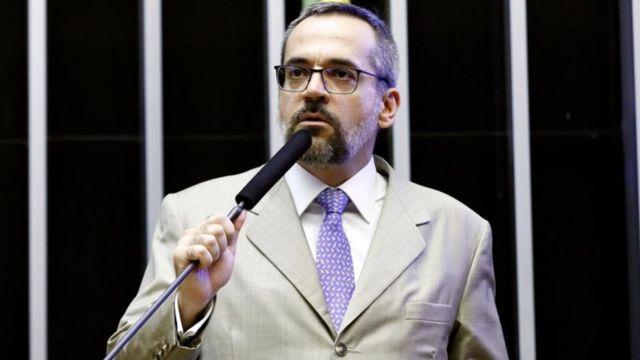 Abraham Weintraub em convocação na Câmara