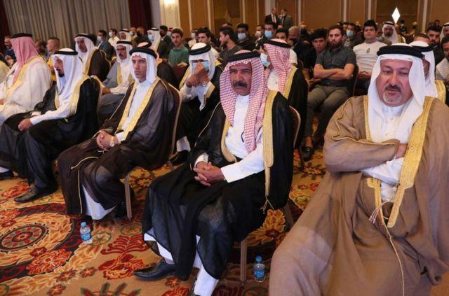 اندیشکده مرکز ارتباطات صلح میگوید بعضی از سران قبائل عراق اعم از شیعه و سنی در نشست حضور داشتند