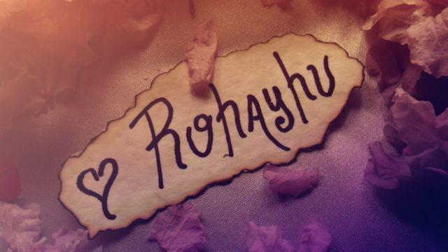 """Rohayhu"" significa algo como 'te amo' en guaraní."