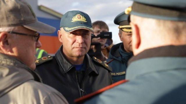 Rusya Acil Durumlar Bakanı Yevgeniy Ziniçev