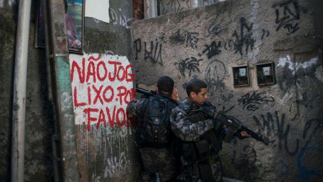 Seguridad en las favelas