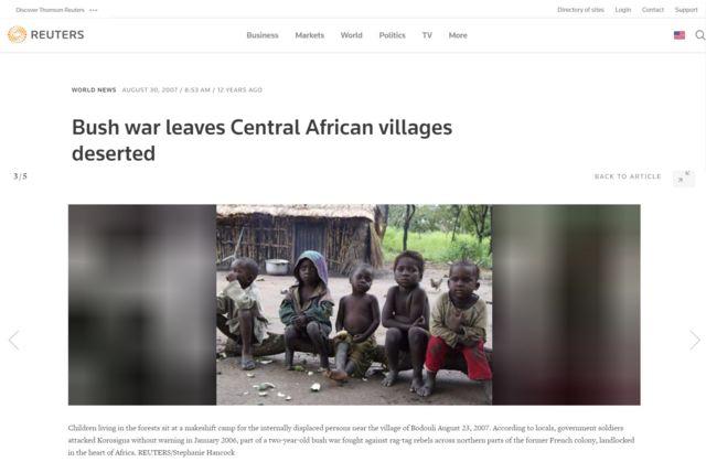 Reportagem da Reuters