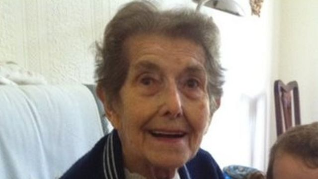Hospital medication error for Kathleen Neville, 93