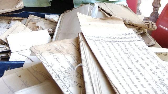 भाऊ सावंत यांना आलेली मोडी भाषेतली पत्रं