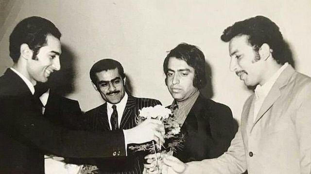 بهمن مفید (نفر اول سمت راست) در چهارمین دوره جایزه سینمایی سپاس در سال ۱۳۵۱ برای نقش مکمل داش آکل جایزه گرفت