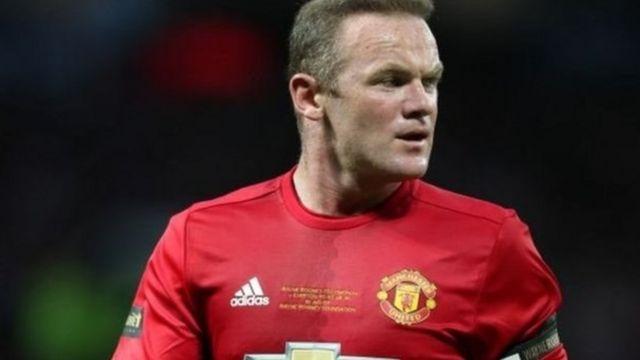 Wayne Rooney a wasan karrama shi tsakanin Man United da Everton