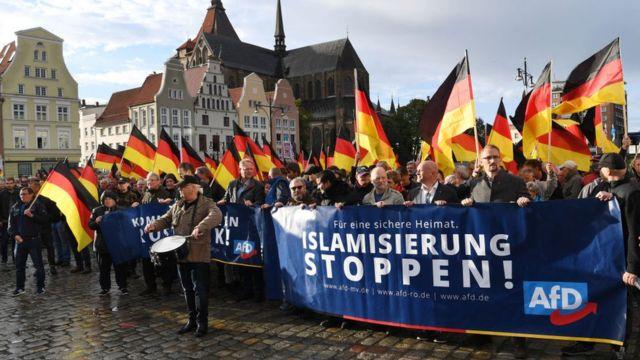 """Демонстрация """"Альтернативы для Германии"""""""