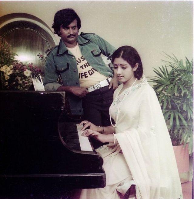 रजनीकांत आणि श्रीदेवी