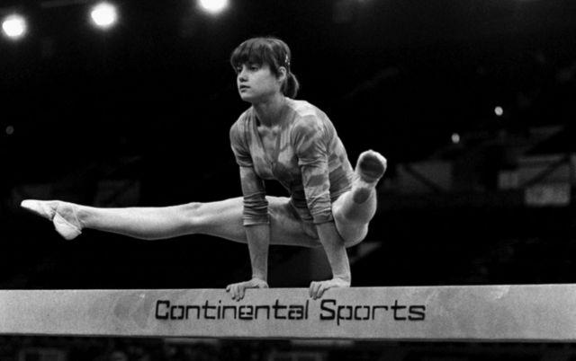 Nadia Comaneci em 1979