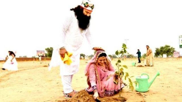 राम रहीम और हनीप्रीत