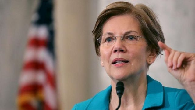 La sénatrice américaine Elizabeth Warren