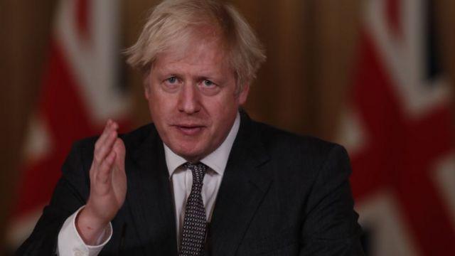 Primer ministro de Reino Unido, Boris Johnson.